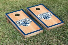 Hard Court w/ Border Fayetteville State Broncos Cornhole Game Set