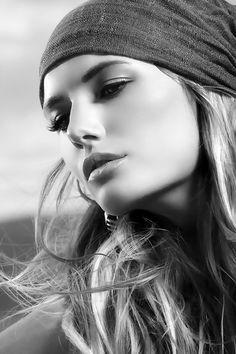 Nadege Dabrowski, French Model.