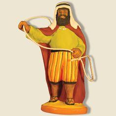 Wish: Camel driver; santons Fouque collection 9 cm