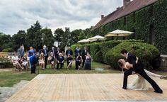 Beautiful destination wedding at Château de Villiers Le Mahieu just outside Paris  #francewedding