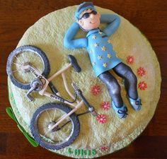 making mountain bike figures for a cake - Google Search