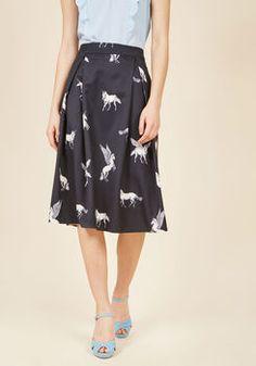 Sugarhill Boutique Believe to the Imagination Midi Skirt