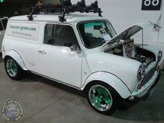Another RWD Wide Arched Wednesday beast up next with this wicked V-tec powered Mini Van! Very cool
