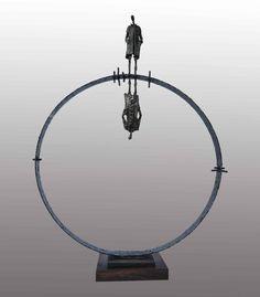 Tükröm, Tükröm / Mirror, Mirror  2013 vas,fa/ iron,wood  Molnár Levente Szobrász/Sculptor http://www.molnarlevente.com
