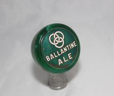 Vintage Ballantine Ale Tap Marker Beer Tap Handle Beer Tap Ball Beer Tap Knob