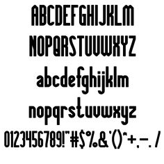 Knowledge Power Bold Font