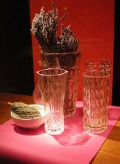 Los - Omas Schränke stöbern und das gute alte Kristall zutage befördern!