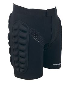 Trespass Impact Padded Impact Short - Black - Extra Large Velcro Front Opening. Elasticated Waist at sides. Padded Side and Back Panels. Front Mesh Panels. Contrast Embroidery. Trespass padded impact shorts are designed to help (Barcode EAN = 5050985879110) http://www.comparestoreprices.co.uk/december-2016-6/trespass-impact-padded-impact-short--black--extra-large.asp