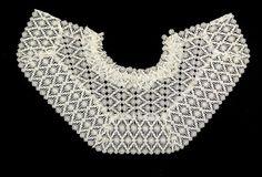 1835-40 American Lace cape  -  MET