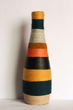 Decorative Vase Vases Decor, Decorating Vases, I Can Do It, Bottle, Fun Ideas, Diy, Crafting, Home Decor, Frases