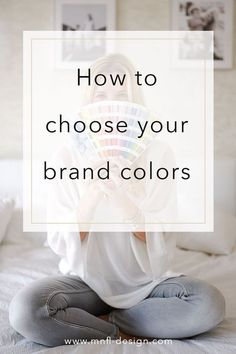 The colours you choose for your brand are an essential part of your branding and will determine the feel and mood of your brand. Take this seriously and choose wisely. Read more on how to choose your brand colours. Personal Branding, Social Media Branding, Branding Your Business, Small Business Marketing, Corporate Branding, Business Tips, Media Marketing, Logo Branding, Personal Logo