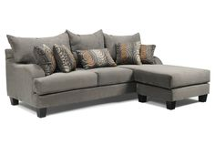 Thinking of trying to sell our living room furniture to buy a sectional..I like this one but, in brown