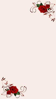 Framed Wallpaper, Flower Background Wallpaper, Flower Phone Wallpaper, Graphic Wallpaper, Pink Wallpaper Iphone, Flower Backgrounds, Flower Wallpaper, Wallpaper Backgrounds, Frame Border Design