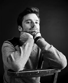 Sebastian Stan photographed by Billy Kidd during TIFF 2017.