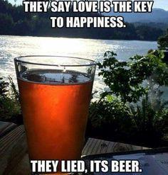 🍻The key to happiness is beer! Beer Memes, Beer Quotes, Beer Humor, Liquor Quotes, Wine Jokes, Beer Brewing, Home Brewing, More Beer, Drunk Humor