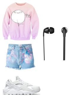 out loud by petra-fia on Polyvore featuring Forte Couture, NIKE and The Sharper Image