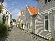 This amazing image of Stavanger Wood House Typical Architecture Or Norweigan Style categorized within the Country People Around The World, Around The Worlds, Beautiful Homes, Beautiful Places, Stavanger Norway, Travel Channel, Grand Tour, House In The Woods, Historical Sites