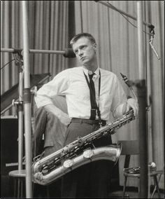 """Gerald Joseph """"Gerry"""" Mulligan (April 6, 1927 – January 20, 1996) was an American jazz saxophonist, clarinetist, composer and arranger. Though he is primarily known as one of the leading baritone saxophonists in jazz history, he was also a notable arranger, working with Claude Thornhill, Miles Davis, Stan Kenton, and others. Mulligan's pianoless quartet of the early 1950s with trumpeter Chet Baker is still regarded as one of the more important cool jazz groups."""