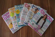 """Produkttest der Zeitschriftenabos """"Burda Style"""" & """"Essen u. Trinken"""" von www.zeitschriften-abo.de --- www.produkttest-welt.de"""