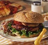 BULL'S-EYE Grilled BBQ Pork Chop Sandwich #pork #porkchops #bbq #grilling #sandwich #recipe