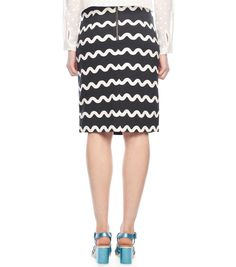 The Waves Pencil Skirt Spring 2015, Pencil, Dresses For Work, Waves, Skirts, Clothes, Fashion, Outfits, Moda
