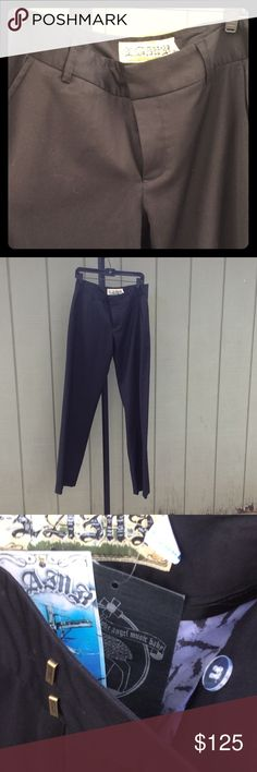 L.AM.B. Men Trousers Dress Pants Long,  NWT and extra button. Men's style. Spring 2015. Runs slightly small. IMO L.A.M.B. Pants Trousers