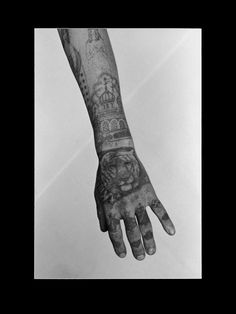 Photographs of Magnificent Tattoos on Russian Criminals – Sergei Vasiliev