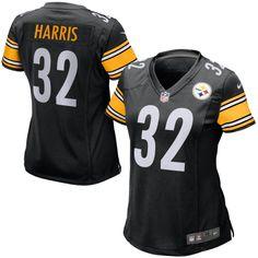 NFL Franco Harris Pittsburgh Steelers Nike Women's Retired Game Jersey - Black