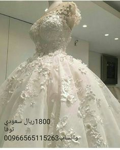 7f06a86af فستان عروس فخم وناعم من تنفيذنا | فساتين زفاف متميزة | Pinterest