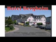 Hotel Bergheim - Bergheim Land Nordrhein Westfalen - Visit http://germanhotelstv.com/preiswert This family-run hotel is situated in Bergheim around 25 kilometres west of Cologne. It offers free parking and is a 15-minute walk from the train station.  The Hotel Bergheim offers comfortable rooms and a breakfast buffet each morning. -http://youtu.be/mGn2NeCCJbk