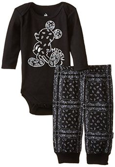 Disney Baby Baby-Boys Newborn Mickey Mouse Boy Bodysuit and Pant Layette Set- Hipster, Black, 0-3 Months Disney http://www.amazon.com/dp/B00ULADP1K/ref=cm_sw_r_pi_dp_z85awb1436TNC