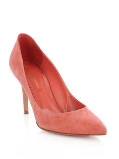 Gianvito Rossi Suede point shoes £271
