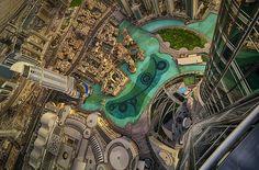 View from 124th Floor of Burj Khalifa! Photo by Marek Kijevský Photography