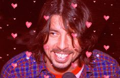 So let's just get this out of the way now: Dave Grohl is a hunky dude.
