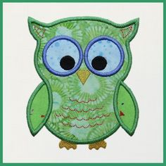 """This FREE machine embroidery appliqué download includes a single design to be used with the Accuquilt GO!™ Owl die (55333) The die is available exclusively at your local Jo-Ann Fabric store and JoAnn.com. The appliqué is completed with a satin stitch.Hoop Size: Design fits a 5"""" x 7"""" (120 x 250 mm) machine embroidery hoop.    Machine Formats Included in a Single Zip File:  ART, dst, exp, hus, jef, pes, shv, vip, vp3, xxx.  Designs Included: 1  owl design ..."""