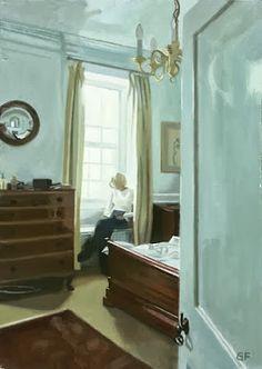 Furlong, Gillian (1950-...) Reading - Bedroom Blackheath