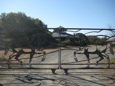 Chalk Hill Horse Gate, Nancy D. Brown photo