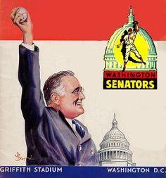 Washington Senators Baseball program