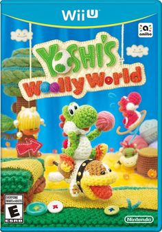 Yoshi's Woolly World Nintendo Wii U Excellent Used Condition!