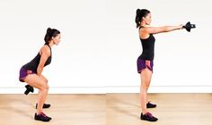 Women In The Gym, Tip #6: Do Kettlebell Swings.  Kettlebell swings are excellent for fat burning, and make a great addition to the end of your workout.  When done properly, kettlebell swings work muscles in your hips, glutes (bum), hamstrings, abdomen, shoulders and arms.  They are also awesome cardio replacements - they get your heart rate up very quickly.  Don't forget the golden rule though - lift heavy!