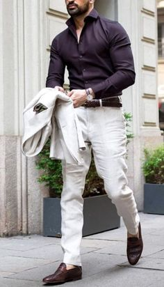 Classy Business Casual Outfit In Winter For Men 28
