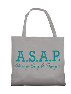 ASAP Tote Bag