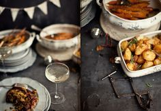 From What Katie Ate blog, Absolutely brutal and beautiful prop and food styling. Immaculate photography