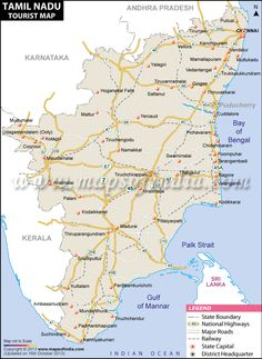 36 best tamilnadu map images on pinterest cards chennai and india map tamilnadu travel map gumiabroncs Image collections
