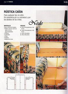 Fundas sofa lenceria pinterest fundas sofa sof y - Artesanos del sofa ...