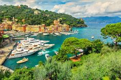 """9. Portofino — This """"gorgeous tiny fishing village turned up-market resort"""" is """"very romantic and popular with the rich and famous,"""" Boaz Lantsman, founder of RoutePerfect.com, told Business Insider. Celebrities like Beyoncé, Jay Z, and Steven Spielberg have visited Portofino, and stayed at the 5-star Belmond Hotel Splendido. The twin hotel has roof gardens, and a spa and sauna, while some of the suites feature marble bathrooms."""