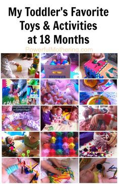 Favorite Toys & Activities at 18 Months - from Powerful Mothering