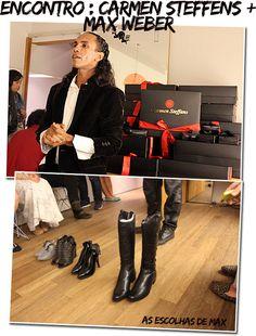 Ontem a noite a Carmen Steffens promoveu um encontro super bacana com bloggers para a apresentação da sua coleção de inverno. Os sapatos só chegam nas lojas em março, mas tivemos a oportunidade de …