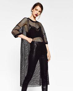 Image 2 of MESH DRESS from Zara