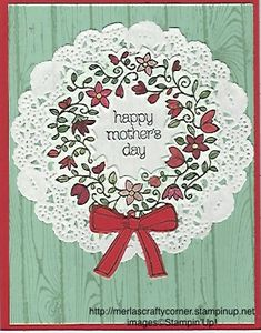 Mother's Day by CraftyMerla - Cards and Paper Crafts at Splitcoaststampers